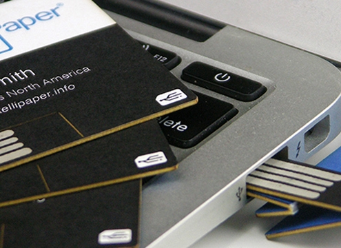 intellipaper swivelcard nfc