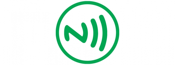 green nfc tag